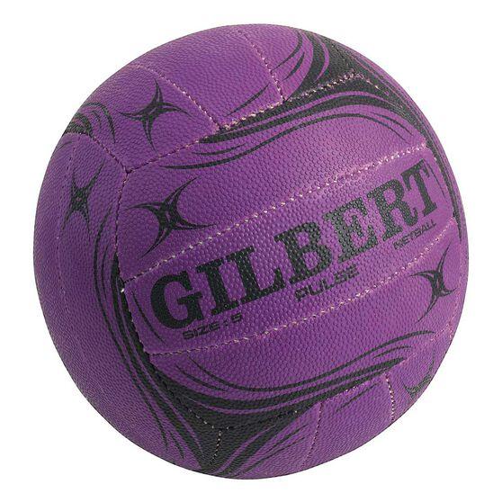 Gilbert Pulse Netball, Purple, rebel_hi-res