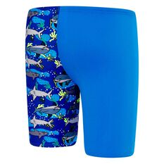 Speedo Toddler Boys Shark Jammer Blue / Print 3, Blue / Print, rebel_hi-res