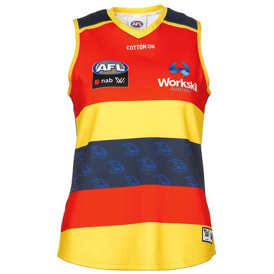 Adelaide Crows AFLW 2018 Womens Home Guernsey XS  dce126b17