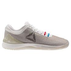 Reebok CrossFit Nano 8.0 Womens Training Shoes White / Grey US 6, White / Grey, rebel_hi-res