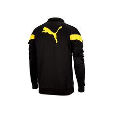 Richmond Tigers 2021 Mens Iconic Jacket Black S, Black, rebel_hi-res