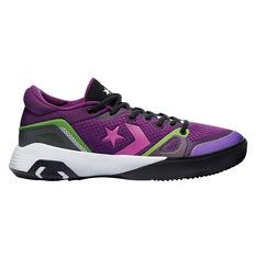 Converse G4 Low Miami Nights Basketball Shoes Black/Pink US 8, Black/Pink, rebel_hi-res