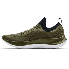 Under Armour Flow Velociti SE Mens Running Shoes Green/Black US 8, Green/Black, rebel_hi-res