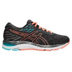 Asics GEL Cumulus 21 Liteshow 2.0 Womens Running Shoes Grey / Coral US 6, Grey / Coral, rebel_hi-res