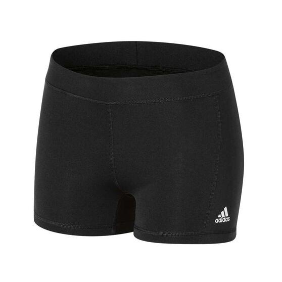 59d596a05e adidas Womens Tech Fit 3in Booty Shorts Black XL, Black, rebel_hi-res