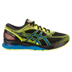 Asics GEL Nimbus 21 Mens Running Shoes Black / White US 7, Black / White, rebel_hi-res