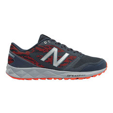New Balance 590T Mens Trail Running Shoes Dark Grey US 7, Dark Grey, rebel_hi-res