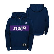 Melbourne Storm 2021 Kids Hoodie, Navy, rebel_hi-res