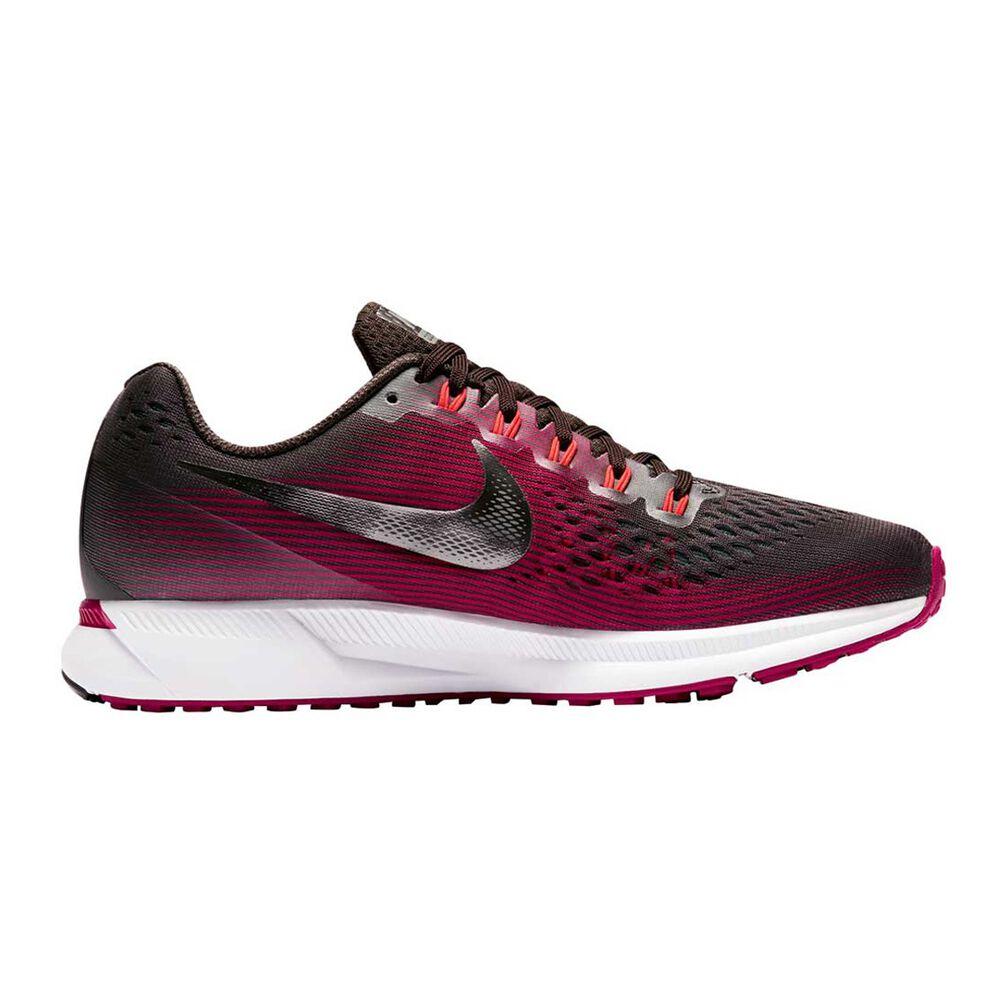 e52684d0dad19 Nike Air Zoom Pegasus 34 Womens Running Shoes Maroon   Brown US 9 ...