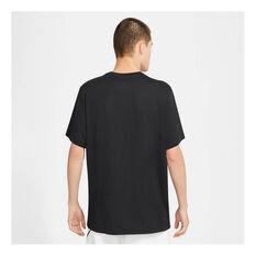 Nike Mens Sportswear Just Do It Tee Black XS, Black, rebel_hi-res