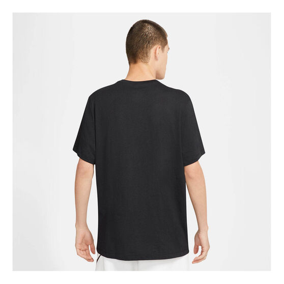 Nike Mens Sportswear Just Do It Tee, Black, rebel_hi-res