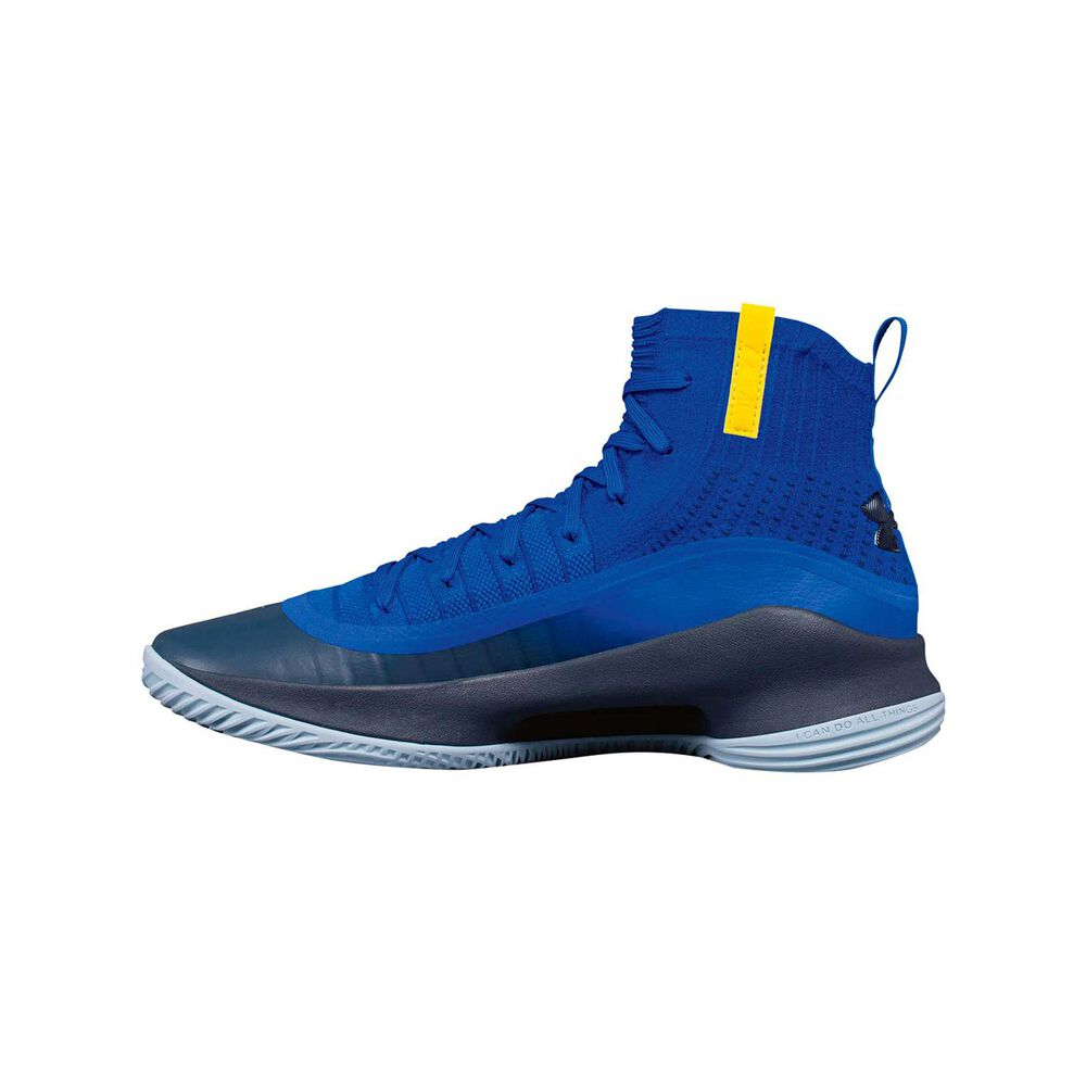 8d2bb988af63 Under Armour Curry 4 Mens Basketball Shoes Blue US 13