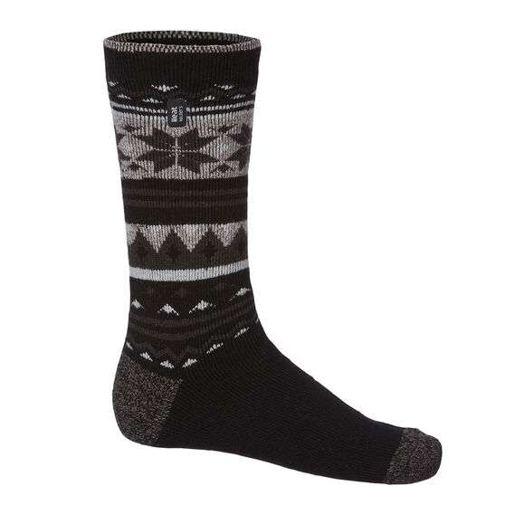 Heat Holders Mens Faireisle Lite Socks US 6 - 11, , rebel_hi-res