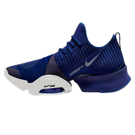 Nike Air Zoom SuperRep Mens Training Shoes, Blue / Black, rebel_hi-res