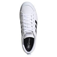 adidas Bravada Mens Casual Shoes, White/Black, rebel_hi-res