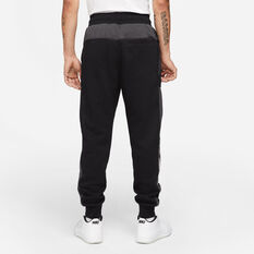 Nike Mens Sportswear Air Fleece Pants Black XS, Black, rebel_hi-res
