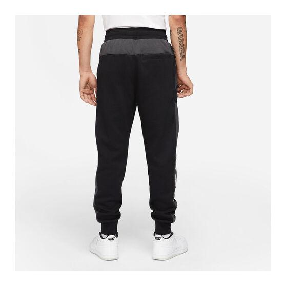 Nike Mens Sportswear Air Fleece Pants, Black, rebel_hi-res