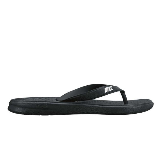 Nike Solay Boys Thongs Black US 6, Black, rebel_hi-res