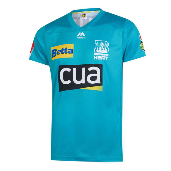 Brisbane Heat 2019/20 Kids BBL Jersey, Teal, rebel_hi-res