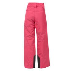 Tahwalhi Girls Kick Ski Pants Pink 4, Pink, rebel_hi-res
