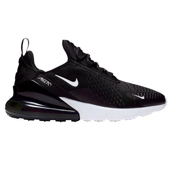 Nike Air Max 270 Mens Casual Shoes, Black/White, rebel_hi-res