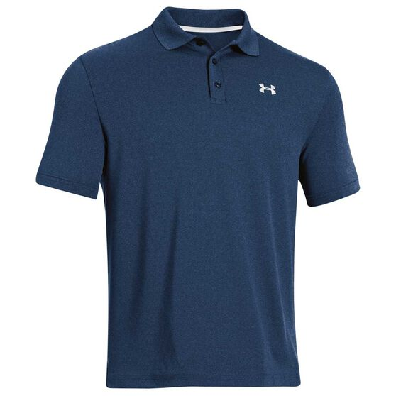 Under Armour Mens Performance Polo Shirt, Navy, rebel_hi-res