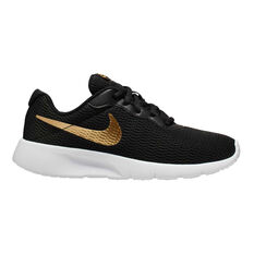 Nike Tanjun Kids Casual Shoes Black / Gold US 5, Black / Gold, rebel_hi-res