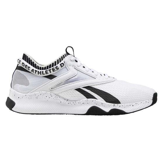 Reebok HIIT Womens Training Shoes, White / Black, rebel_hi-res