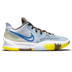 Nike Kyrie Low 4 Light Armory Blue Basketball Shoes Blue US 7, Blue, rebel_hi-res