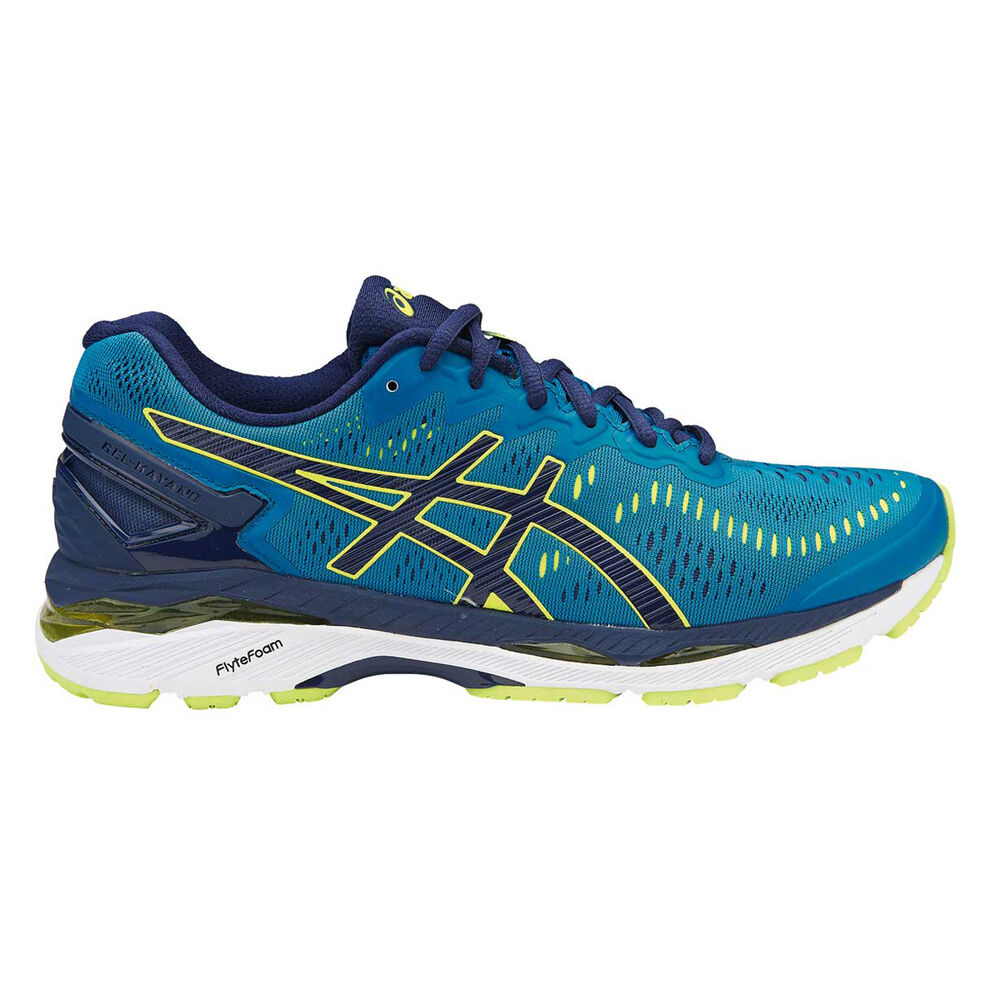 d82ffbe6bab6 Asics Gel Kayano 23 Mens Running Shoes Blue   Black US 8