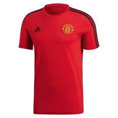 Manchester United FC 2018 / 19 Mens 3-Stripes Tee, , rebel_hi-res