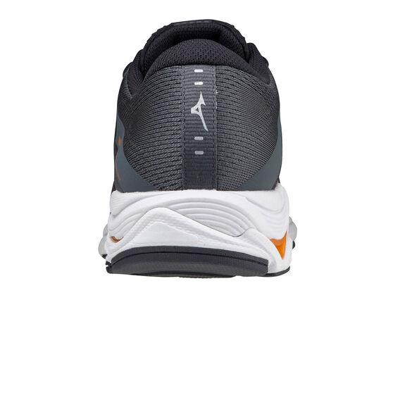 Mizuno Wave Equate 5 Mens Running Shoes, Grey/Orange, rebel_hi-res