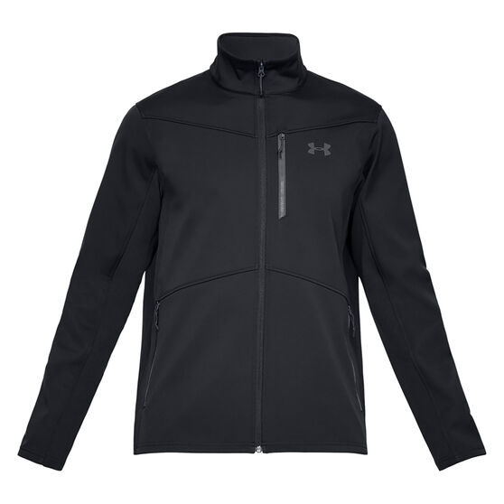 Under Armour Mens ColdGear Infrared Shield Jacket Black XL, Black, rebel_hi-res