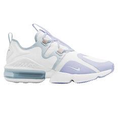 Nike Air Max Infinity Womens Casual Shoes White US 5, White, rebel_hi-res