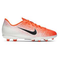Nike Mercurial Vapor XII Club Kids Football Boots Red / Black US 1, Red / Black, rebel_hi-res