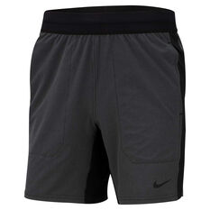 Nike Mens Flex Active Yoga Training Shorts, Black, rebel_hi-res
