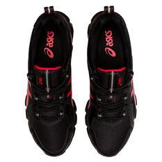 Asics GEL Quantum 180 Mens Casual Shoes, Black/Red, rebel_hi-res