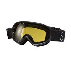 SVNT5 Kids Dogleg Ski Goggles Black, , rebel_hi-res