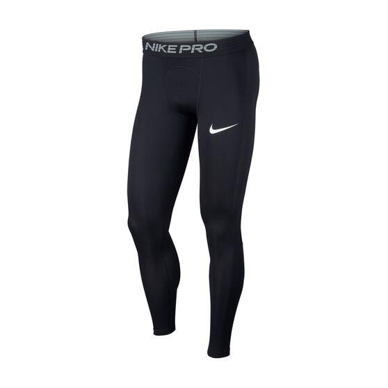 Nike Power Mens Tights, Black, rebel_hi-res