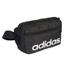 Free Delivery Over  150. adidas Linear Core Waist Bag, , rebel hi-res 58be987b3b