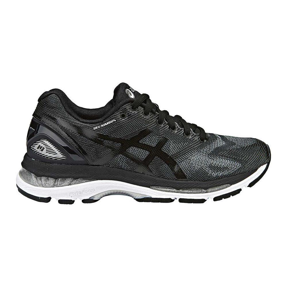 f12798f39ce4 Asics Gel Nimbus 19 B Womens Running Shoes Black   White US 11 ...