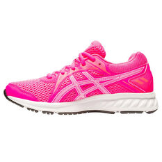 Asics Jolt 2 Kids Running Shoes Pink/White US 4, Pink/White, rebel_hi-res
