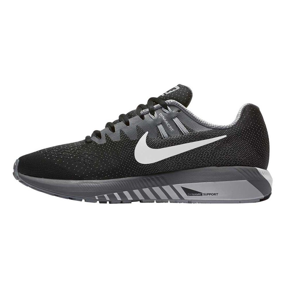 reputable site 56260 d42fb Nike Air Zoom Structure 20 Mens Running Shoes Black   White US 10, Black