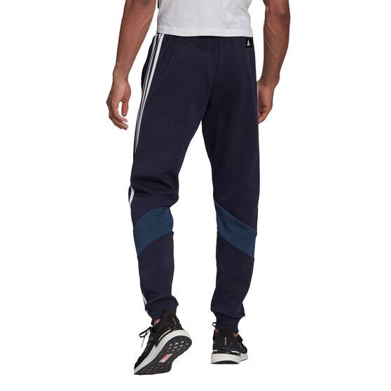 adidas Mens Future Icons 3-Stripes Trackpants, Navy, rebel_hi-res