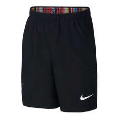 Nike Boys CR7 Dry Football Shorts Black / White XS, Black / White, rebel_hi-res