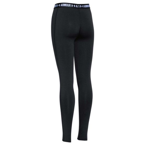 Under Armour Girls Heatgear Armour Tights, Black, rebel_hi-res