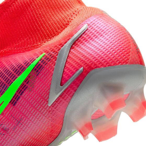 Nike Mercurial Superfly 8 Elite Football Boots, Crimson, rebel_hi-res