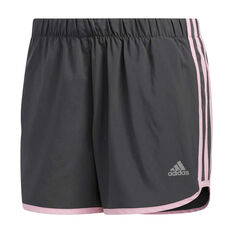 adidas Womens Marathon 20 Running Shorts Grey XS, Grey, rebel_hi-res
