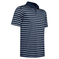 Under Armour Mens Performance Golf Polo Navy S, Navy, rebel_hi-res