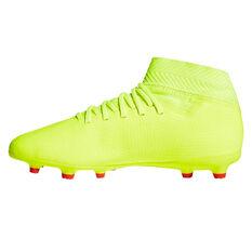 adidas Nemeziz 18.3 Kids Football Boots Yellow / Blue US 11, Yellow / Blue, rebel_hi-res